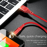 Hi-Tensile Strength USB iPhone Charging Cable with Light