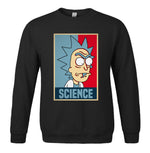 Anime RICK AND MORTY Science Print Sweatshirts Men new Spring Autumn Pullover Harajuku Brand Fitness Sportwear sweatshirt