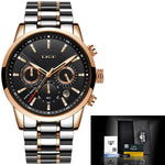 Men's Luxury Stainless Steel Water Resistant Sport Business Watch