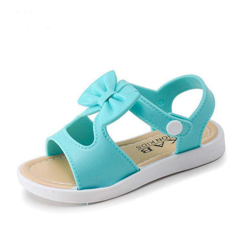 Fashion Summer Girls Sandals Children Shoes Bowknot Princess Girl Shoes Toddler