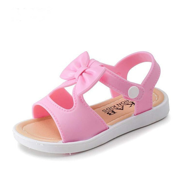 On Sale Children Shoes Girls Sandals Shoes Fashion Bowknot Comfortable Kids Casual Shoes Sandals Toddler Girls Princess Shoes