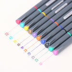 10 Color Marker Sketch Pen Art Set
