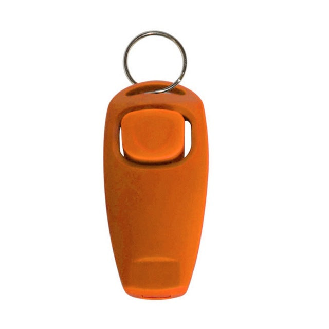 2-in-1 Whistle Clicker Dog Training Whistle