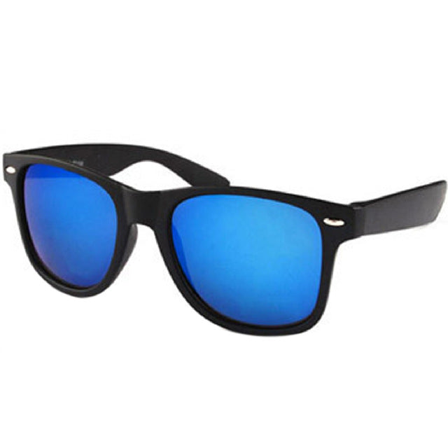 Sunglasses Men Men Driving Mirrors Coating Black Frame Eyewear Male Sun Glasses