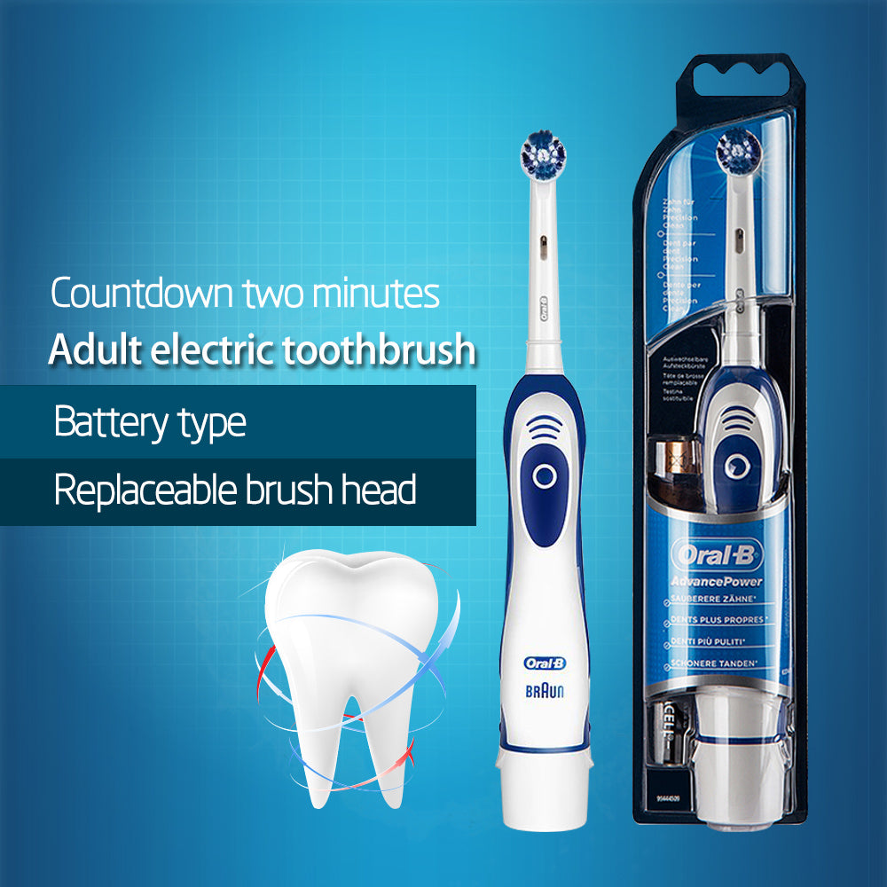 Electric Battery Operated Rotating Precision Toothbrush