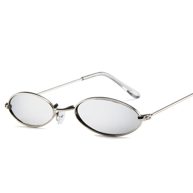 Sunglass | Eyewear | Vintage | Female | Retro | Clear | Glass | Lens | Oval | Sun