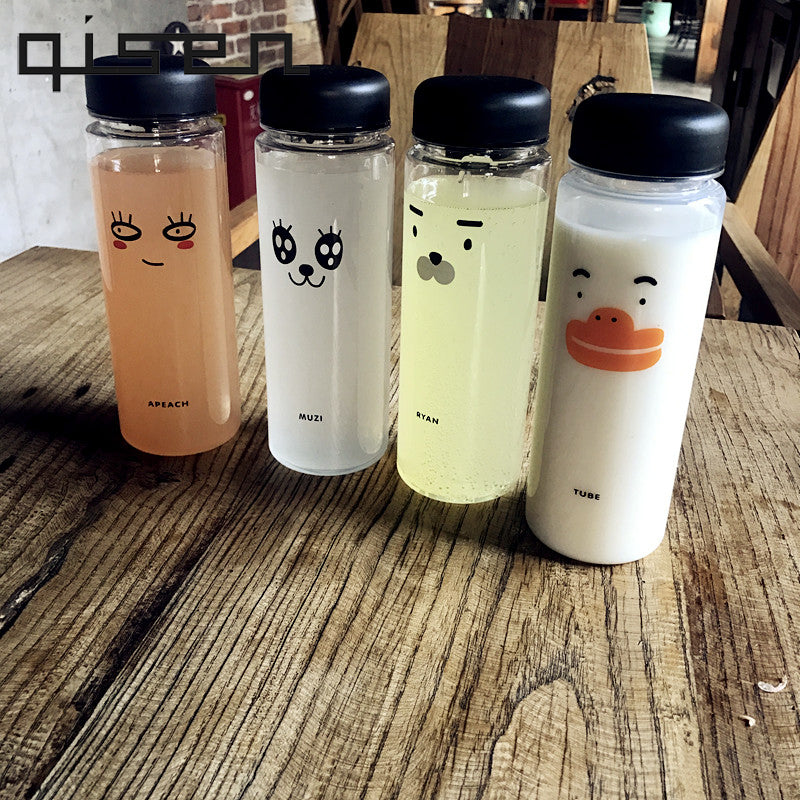 Stylish Cartoon Character Water Bottle