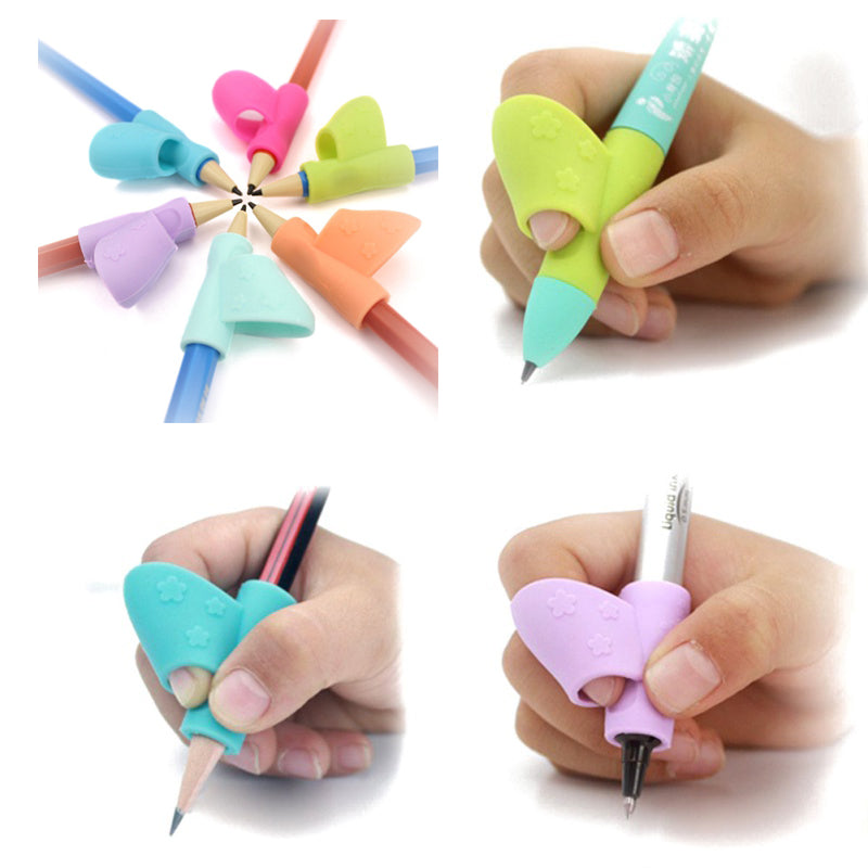 3 Piece: Back to School Children's Pencil Holder Grip