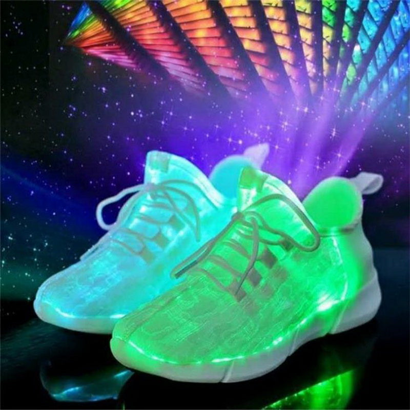 Children USB Rechargeable Led Light Shoes
