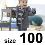 Baby Boys Jacket New Winter Clothes 2 Color Outerwear Coat Cotton Thick Kids Clothes Children Clothing With Hooded