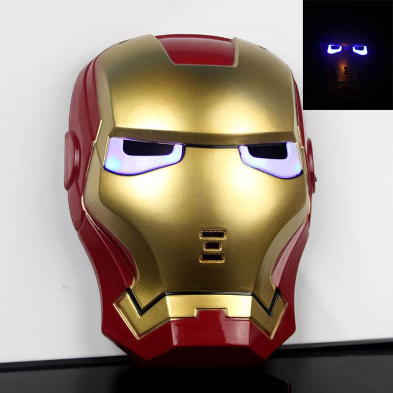 The Avengers Superhero LED Iron Man Mask