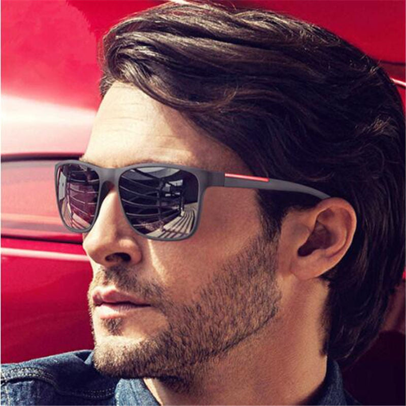 Brand Design UV Sunglasses Men Driving Sun Glasses Vintage Retro Mirror Goggle Eyewear Male Gafas De Sol