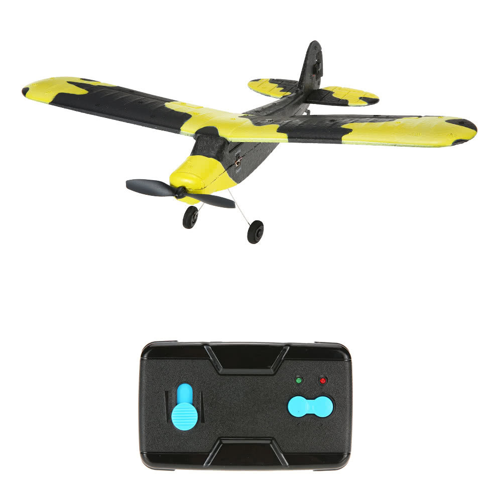 TECHBOY TB-366 2.4G 2CH Remote Control RC Airplane 345mm Wingspan EPP Mini Fox Glider Drone