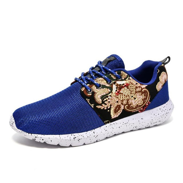 Breathable Chinese Fashion Mesh Running Shoes