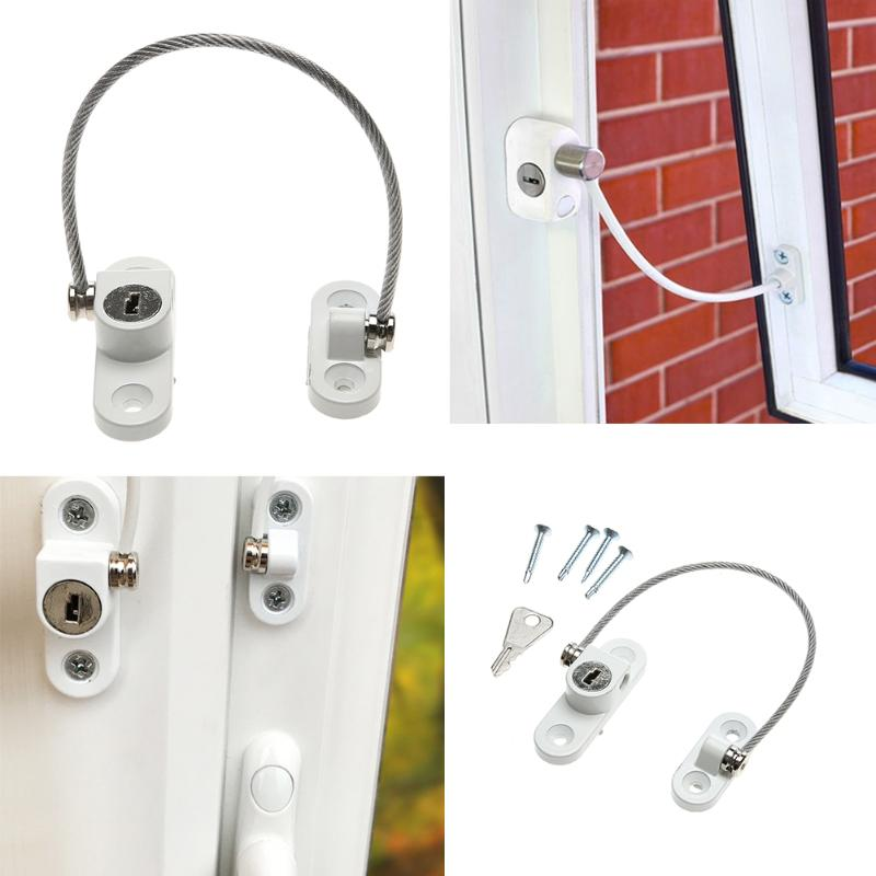 Stainless Steel Cable Window Restrictor