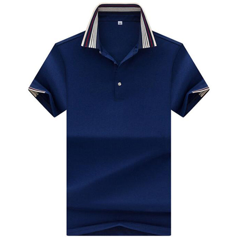 Men's polo shirt summer high quality  Business casual cotton polo men brand solid polo shirt  brand clothing polo homme