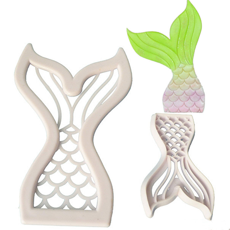Mermaid Fish Tail Bakery Cutter Mold