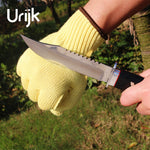 Urijk 1Pair Protective Gloves Car Work Gloves Multifunctional Cutting Puncture Glass Scissors Knife Sharp Metal DIY Hand Tools