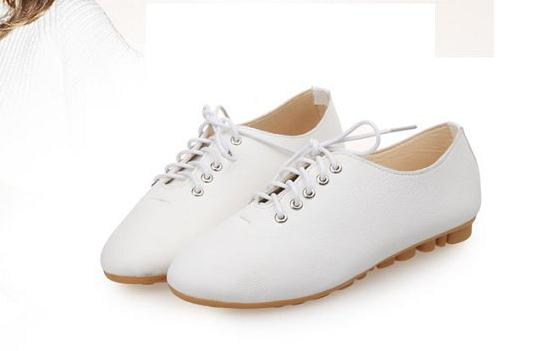 New Brand Women casual Shoes Woman Fashion Canvas Low Breathable Casual Ladies casual Plus Size Candy Flats