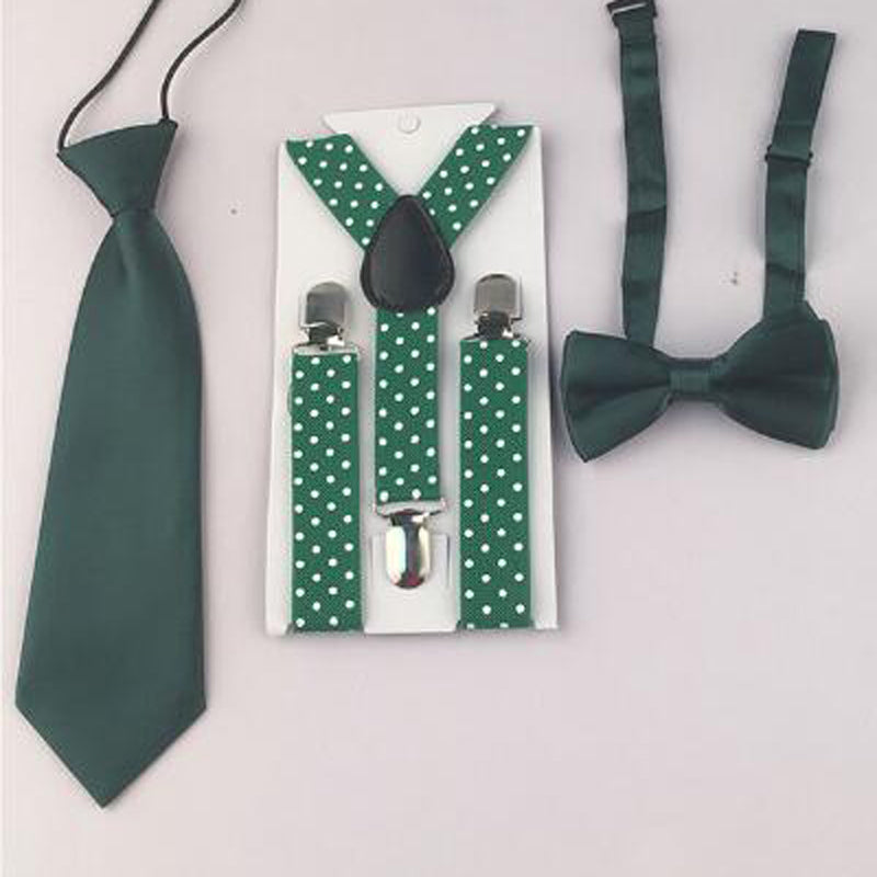 Baby Boy Toddler Unisex Adjustable Necktie Set