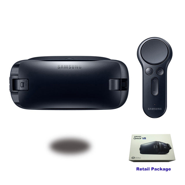 Gear VR 4.0 R323 Virtual Reality Glasses Support Samsung Galaxy S9 S9Plus S8 S8+ S6 S6 Edge S7 S7 Edge Gear Remote Controller