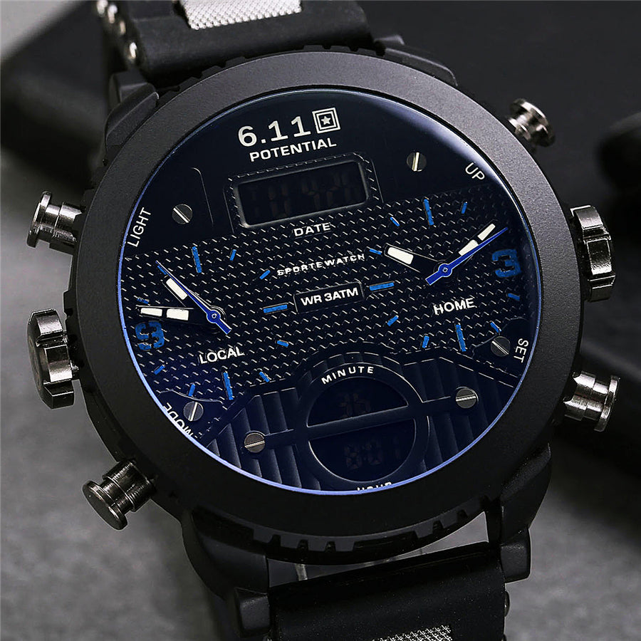 6.11 Mens Sport Watch
