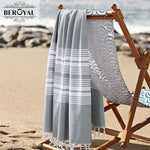New Turkish Towel  - 100% Cotton Bath Towels For Adult Super Soft Beach Towel Quick Dry Towel Muslin Blanket Brand 75*140cm
