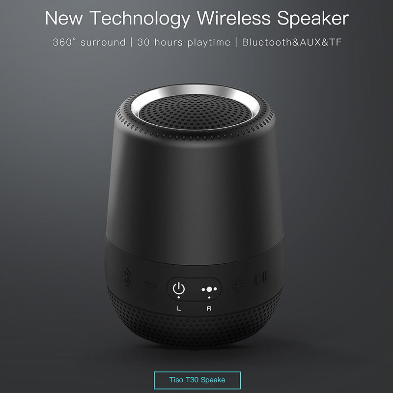 V4.2 8W Portable Bluetooth Loudspeaker with Microphone
