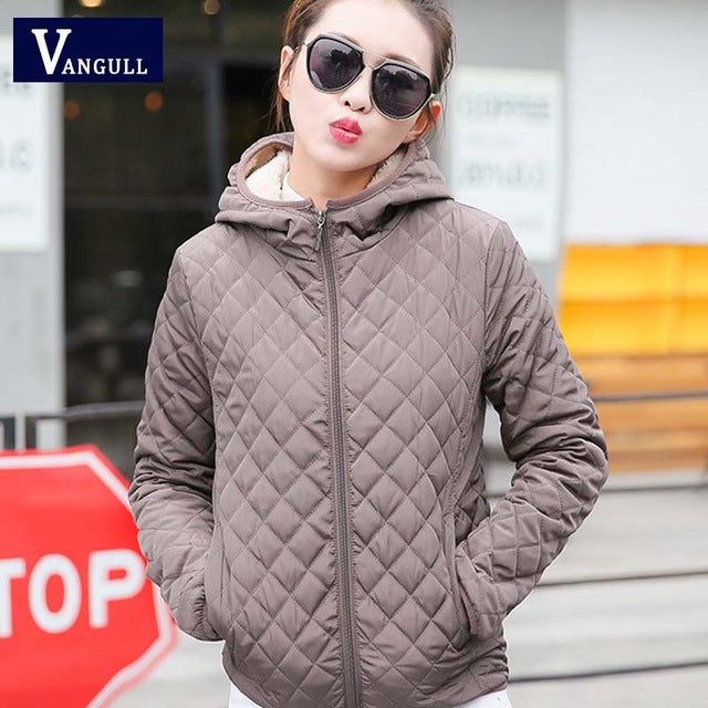 new winter woman lady sweet new year soft casual solid multicolor all match fashion light warm coat outwear parkas woman