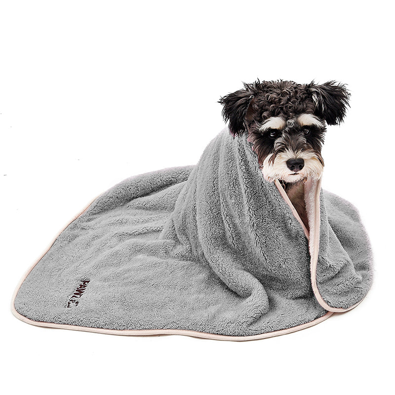 Dog Blanket Luxury Wraps Fabric Soogan Exquisite Workmanship Ideal Blanket For Small  Large Size Pets Puppy Bath Towel Cat Towel
