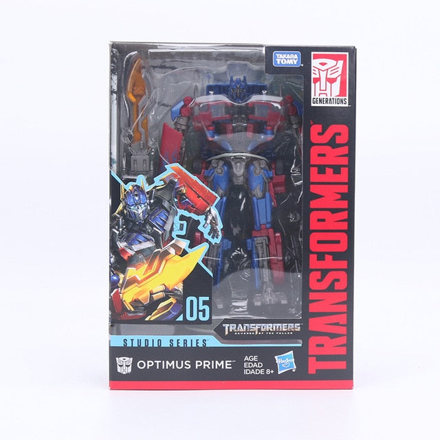 17cm Transformers Toys Studio Series 05 Voyager Class Movie 2 Optimus Prime Voyager Class Starscream Collection Model Dolls