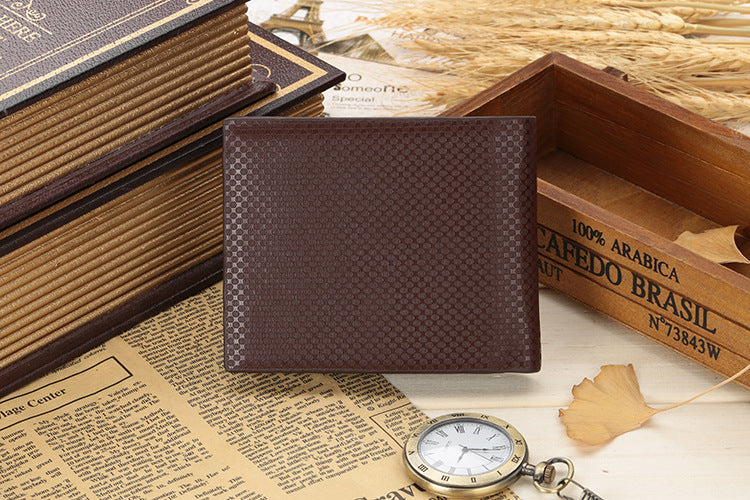 New PU leather wallet men wallets luxury brand clutch wallet Brown money clip men's leather wallet male purse cuzdan JINBAOLAI