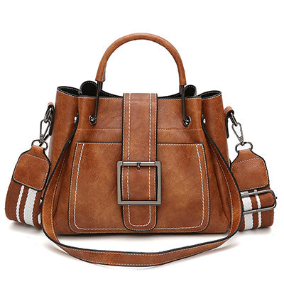 Shoulder | Handbag | Fashion | Leather | Handle | Casual | Metal | Solid | Women | Soft | Tote | Lady | Pin | Bag