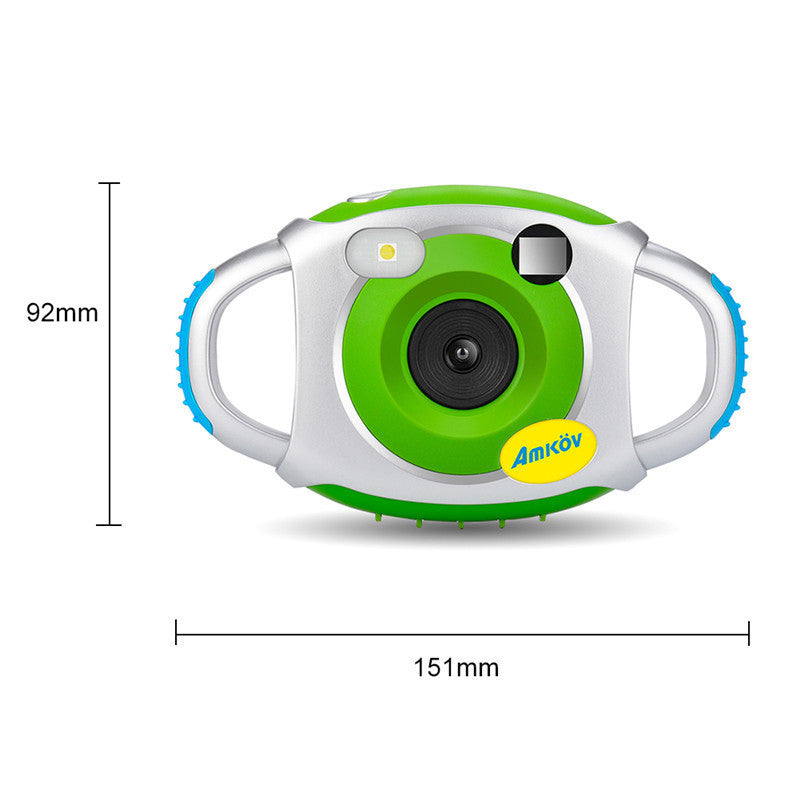 Mini Cute Kid Camera 5MP HD Creativity Neck Children 5MP HD Camera Photography Support Speaker Recording SD Card for Kid Gifts