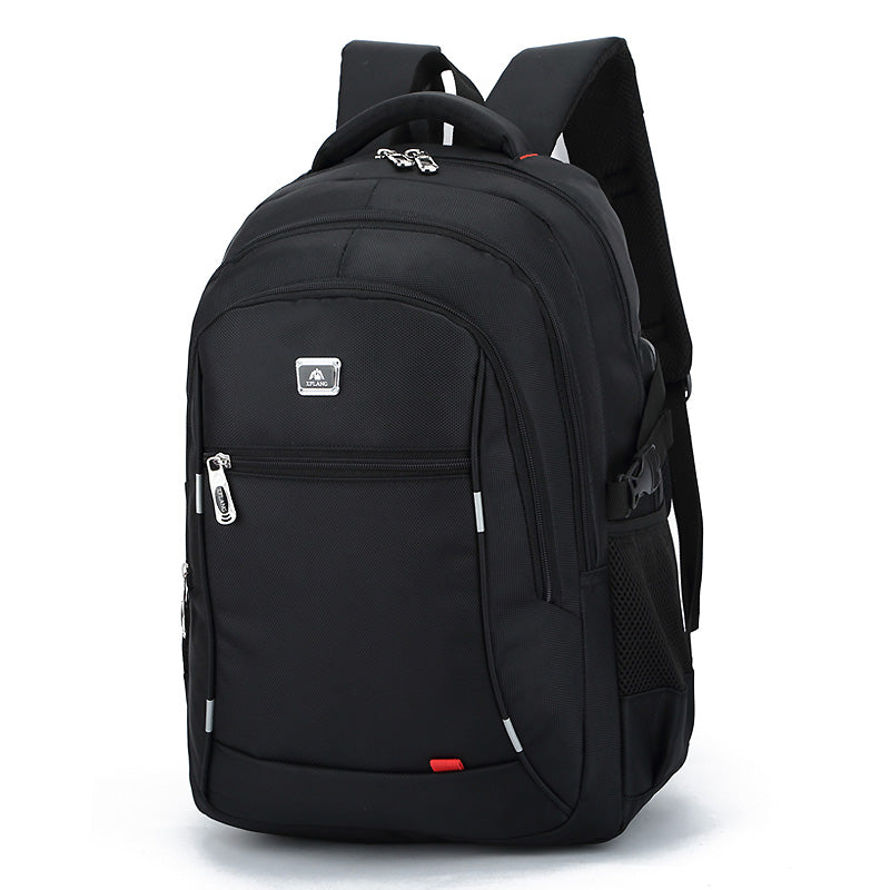 New casual men 's nylon waterproof college students bag computer bag backpack Male Mochila Laptop Travel 14 to17 Inch