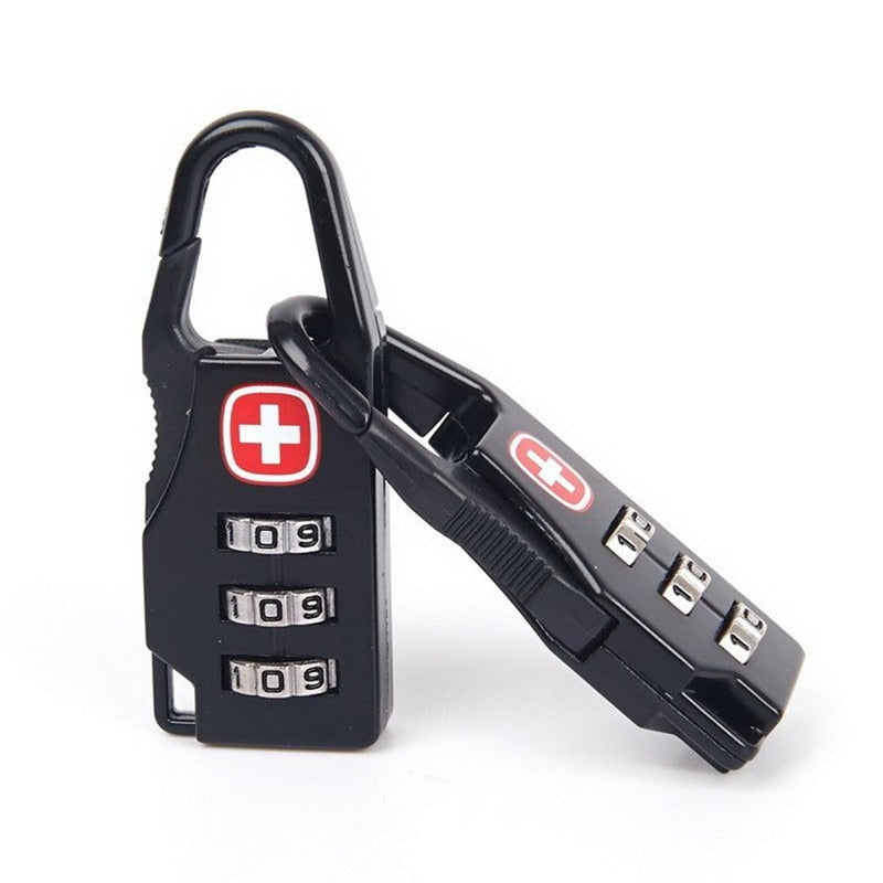 2 Pack: Professional Swiss Number Coded Padlock