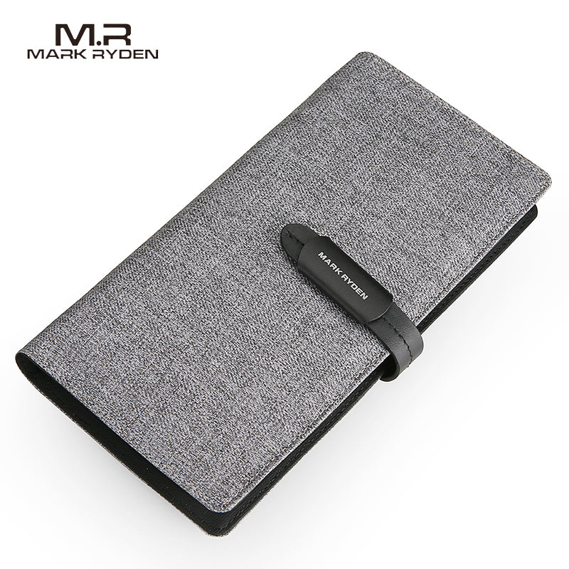 Mark Ryden Wallet Men Long Wallet Card Holder Large Capacity Casual Style Purse For Teenagers