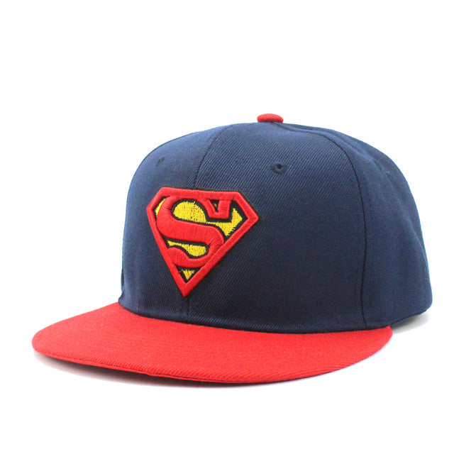 New Brand Children Superman Snapback Hats Baseball Cap Boys And Girls Kids Fashion Hip Hop Caps Baby Casquette Hat