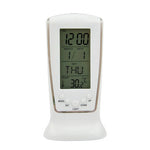 Digital LCD LED Desk Alarm Clock with Calendar & Thermostat