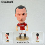 "Soccer Player Star 9# IBRAHIMOVIC 2.5"" Toy Dolls Figurine"