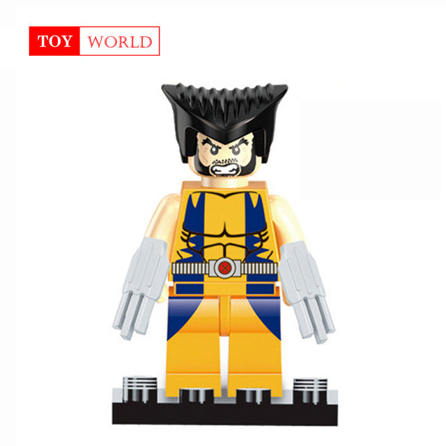 Single Sale Batman Joker Robin Logan X-Men Super Heroes Building Blocks Figures Toys Compatible With LegoINGly Batman zk15