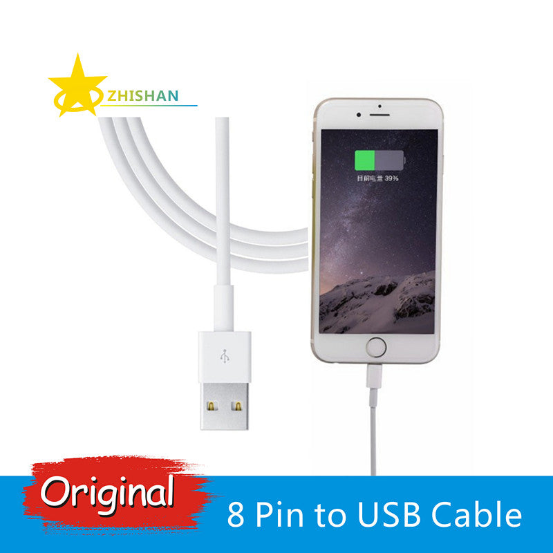 Original 8-Pin USB Charging Data Cable for Apple iPhone and iPad
