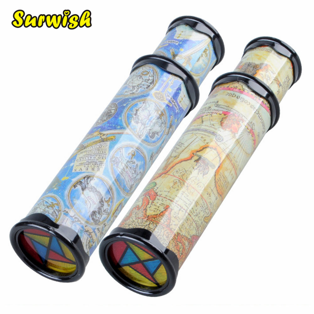 Surwish Big Size Plastic Stretchable Magic Kaleidoscope Kids Children Educational Toy - Random Delivery