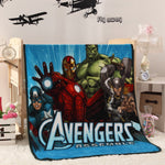 Little Kids Marvel Avengers Fleece Blanket