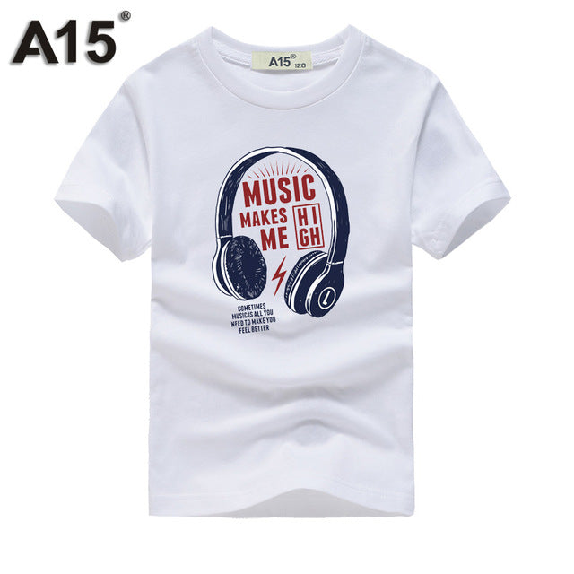 T-Shirt | Summer | Cotton | Sleeve | Funny | Short | Shirt | Year | Girl | Kid | Tee | Top | 3D
