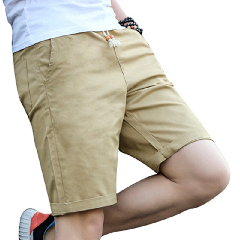 Newest Summer Casual Shorts Men Cotton Fashion Style Men Shorts Bermuda Beach 7colors Shorts Plus Size M-5xl Short For Male