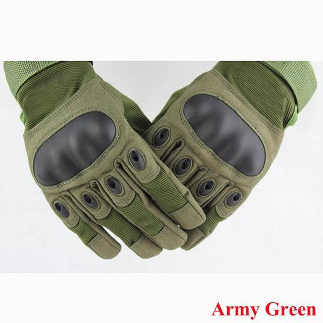 Tactical Gloves Army Military Shooting Combat Gloves Outdoor Hunting Hiking Cycling Sport Gloves Half Finger / Full Finger Type