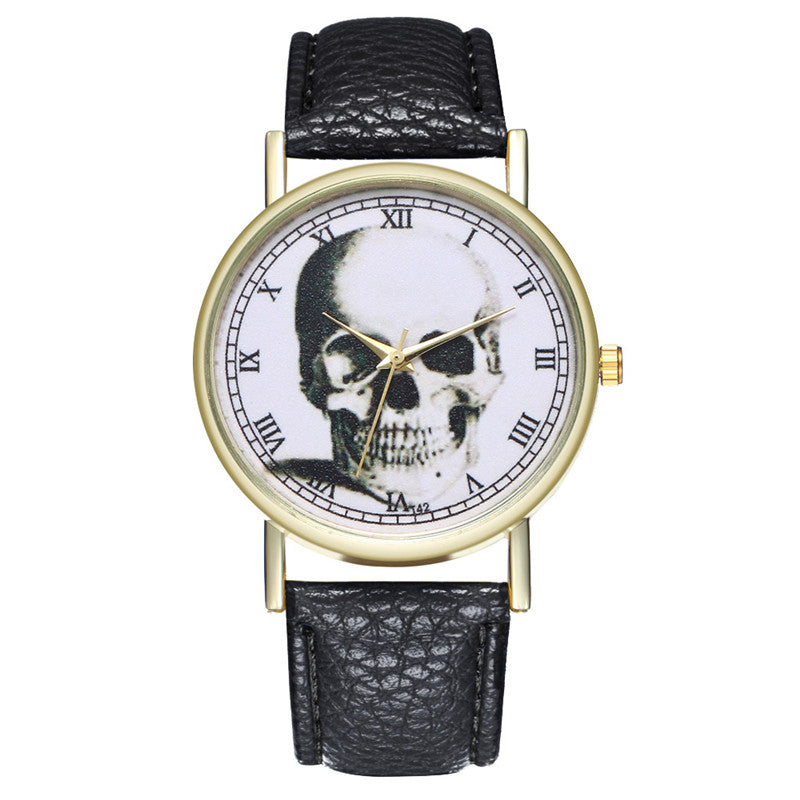 Women Bracelet Quartz Watch Unisex Couple Skull Head