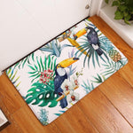 3pcs Birds Printed Toilet Seat Cover Set