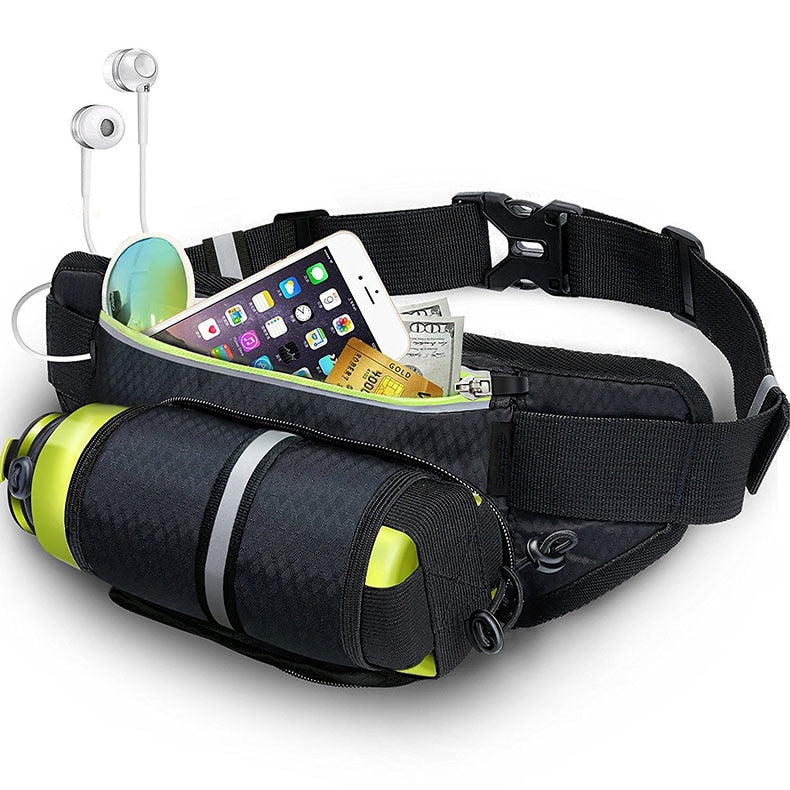Sports Waterproof Fanny Pack with Water Bottle Holder Was: $87.99 Now: $23.99 Plus Free Shipping.